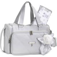 Bolsa Térmica Maternidade Masterbag Baby Anne Urso | Cor: Cinza