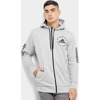Jaqueta Adidas Sid Fz Masculina - Masculino-Cinza