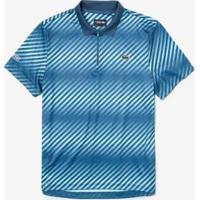 Camisa Polo Lacoste Sport Regular Fit Masculina - Masculino-Azul Claro+Azul