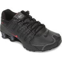 Tênis Nike Shox Nz Masculino - Masculino-Preto+Vermelho