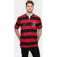 Camiseta Flamengo Retrô Zico Masculina - Masculino