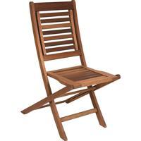 Cadeira Dobrável Parati Madeira Maciça Mestra Móveis Linha Madeira