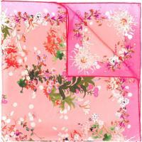 Givenchy Echarpe Com Estampa Floral - Rosa