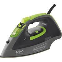 Ferro A Vapor Arno Smartgliss Com Smart Technology, Desligamento Automático E Função Corta Pingos - Fsc1