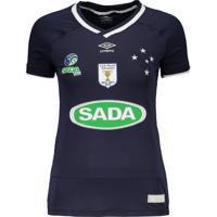 Camisa Umbro Cruzeiro Vôlei I 2017 Feminina