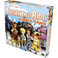 Jogo De Tabuleiro - Ticket To Ride - Primeira Viagem - Galápagos