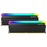 Memória Xpg Spectrix D45G, Rgb, 32Gb (2X16Gb), 3600Mhz, Ddr4, Cl18, Preta - Ax4U360016G18I-Dcbkd45G