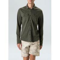 Camisa Army Pockets-Militar