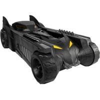 Carrinho Dc Comics Batmóvel Com Acessórios - Masculino-Preto