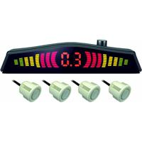 Sensor De Estacionamento 4 Ptos Clip Emborrachado Multilaser