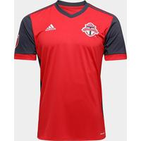 Camisa Toronto Mls Home 17/18 S/Nº Torcedor Adidas Masculina - Masculino
