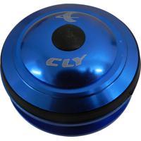 Caixa Movimento De Direção Cly 04 Ahead Over Semi-Integrado 1.1/8 Azul