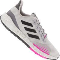 Tênis Adidas Pulseboost Hd Wntr - Feminino - Cinza Cla/Preto