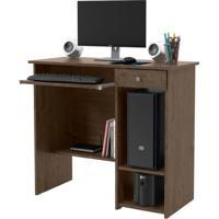 Mesa Para Computador Marina New 1 Gv Imbuia