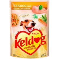 Ração Para Cães Keldog Frango Com Ervilha E Cenoura Sachê 100G