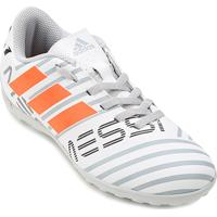 Chuteira Society Infantil Adidas Nemeziz Messi 17.4 Tf - Masculino