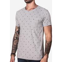 Camiseta Bigotes Mescla 101152