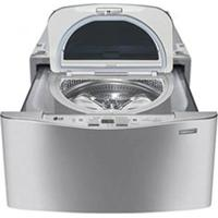 Lavadora De Roupas Lg Mini Wash 2,5 Kg Aço Escovado Com 8 Programas De Lavagem - Wd100Cv.Assfbrs