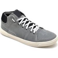 Tênis Dr Shoes Casual Masculino - Masculino-Cinza