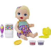 Boneca Baby Alive - Lanchinhos Divertidos - Loira - Hasbro