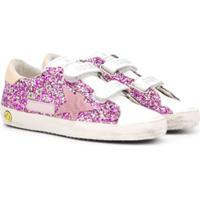 Golden Goose Kids Superstar Glitter Sneakers - Rosa