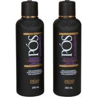 Kit Inoar Pós Alisamento Shampoo 250Ml E Condicion - Unissex-Incolor