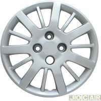 Calota Aro 14 Fiat - Grid - Palio 2009 Em Diante - Prata - Cada (Unidade) - 073