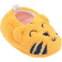 Pantufa Meia Sapatinho De Bebe Infantil Tigre