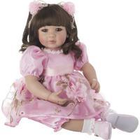 Boneca Laura Doll Spring - Castanho Escuro & Azul- 4Shiny Toys