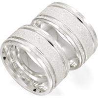 Aliança De Prata Compromisso Fosca Anatômica - As0826