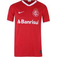 Camisa Do Internacional I 2019 Nike - Masculina - Vermelho/Branco