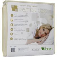 Protetor Colchão Impermeável Bambu Care Casal Queen 158X198 Theva