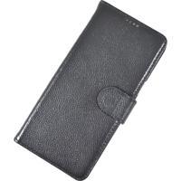Capa De Celular Samsung S8 Rico & Stucker Preta Em Couro