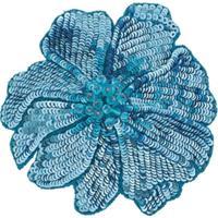 Racil Broche Floral - Azul