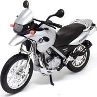 Mini Moto Cycle - Escala 1:18 - F 650 G5 Prata - Califórnia Toys