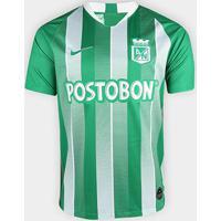 Camisa Atlético Nacional Home 19/20 S/Nº - Torcedor Nike Masculina - Masculino