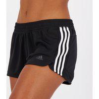 Short Adidas Pacer 3S Knit Feminino Preto