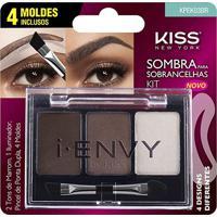 I-Envy By Kiss Kit Sombra Para Sobrancelha Medium Brown - Feminino-Incolor