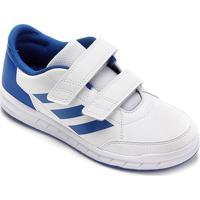 Tênis Infantil Adidas Altasport - Unissex-Branco+Azul