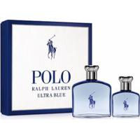 Kit Perfume Polo Ralph Lauren Ultra Blue Masculino Eau De Toilette 125Ml & 40Ml