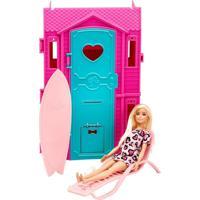 Barbie Studio De Surf Vestido Rosa Claro - Fun Divirta-Se