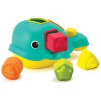 Brinquedo De Encaixe Infantino Baleia