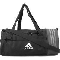 Mala Adidas Trn Core - Unissex-Preto+Branco