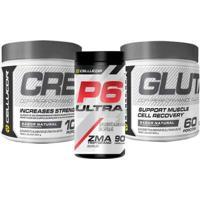 Creatina + Glutamina + Testo P6 300G Cellucor - Unissex