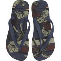 Chinelo Havaianas Aloha - Masculino - Azul Escuro