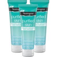 Kit 3 Esfoliante Facial Neutrogena Purified Skin 100G - Tricae