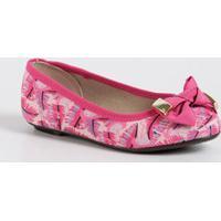 Sapatilha Infantil Estampa Flamingos Molekinha 2099559