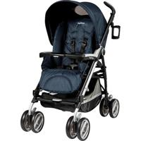 Carrinho De Bebê Pliko P3 Compact Clássico Cielo Pegpérego Azul-Marinho