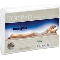 Pillow Top De Látex Casal King Size Capa Bambu 193X203X03 Top Pad Dunlopillo