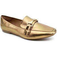 Sapato Oxford Feminino Nina Menina 160-100 Bronze